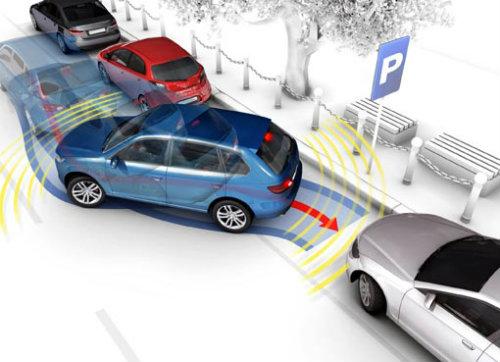 sensores para estacionarse