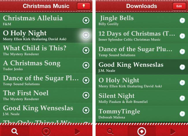 iphone-christmas-music