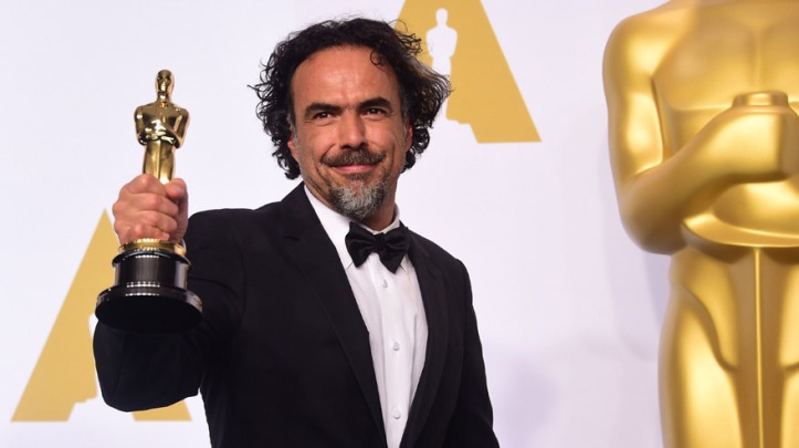 TOPSHOTS Director Alejandro Gonzalez Inarritu, winner for the Best Picture award for