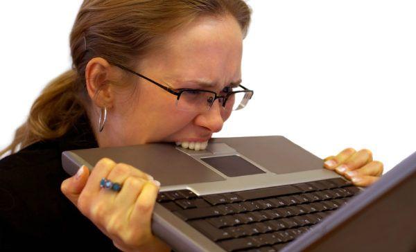 Estrés Tecnológico - Computadores e internet